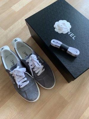 Chanel Sneaker Schuhe grau 39