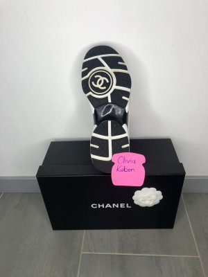 Chanel Sneaker stringata multicolore