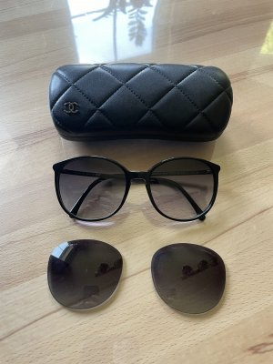 Chanel Butterfly bril zwart