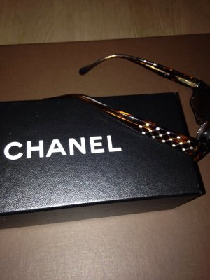 Chanel Zonnebril roodbruin
