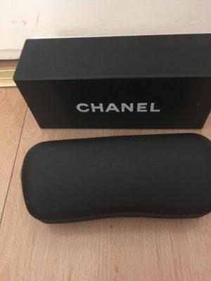 Chanel Occhiale stile retro oro-marrone scuro