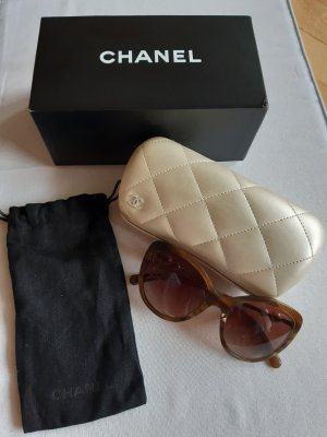 Chanel Butterfly Glasses brown