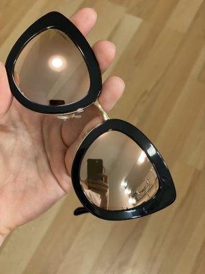 Chanel Gafas color rosa dorado-negro