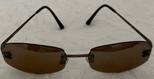 Chanel Gafas marrón metal