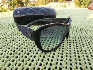 Chanel Gafas de sol ovaladas negro-azul