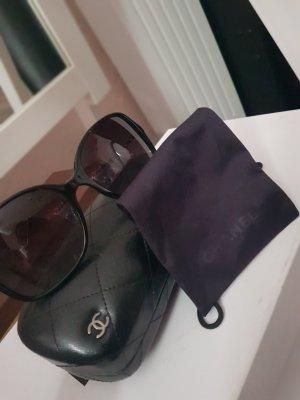 Chanel Occhiale nero-argento