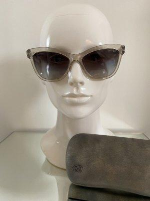 Chanel Oval Sunglasses grey