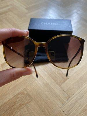 Chanel Lunettes papillon brun-brun foncé