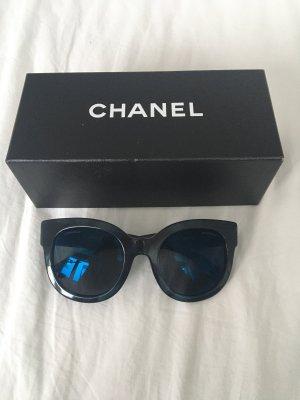Chanel Butterfly bril donkerblauw-zwart