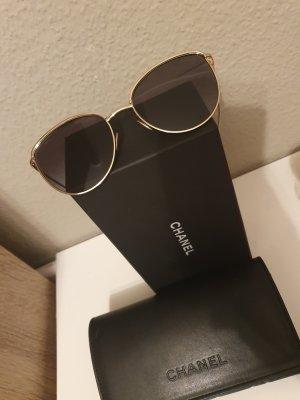 Chanel Occhiale panto nero-oro