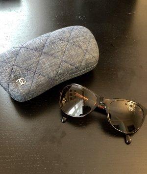 CHANEL Sonnenbrille Jeans Braun