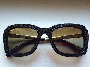 Chanel Gafas de sol negro-color oro
