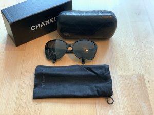 Chanel Ronde zonnebril zwart