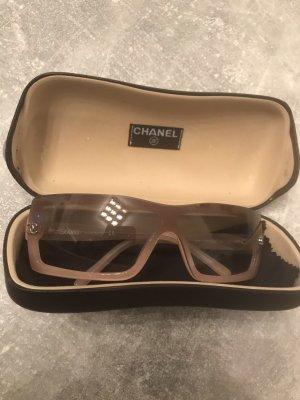 Chanel Occhiale da sole color oro rosa-rosa antico