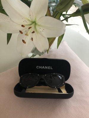 Chanel Occhiale stile retro nero-argento