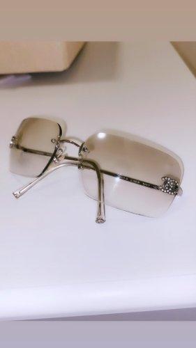 Chanel Gafas Retro color plata