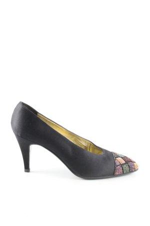 Chanel Spitz-Pumps schwarz Elegant