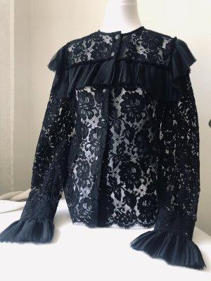 Chanel Spitzen Bluse