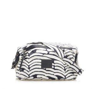 Chanel Crossbody bag white nylon