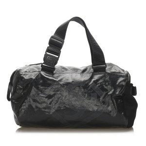 Chanel Handbag black nylon