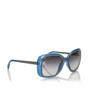 Chanel Lunettes de soleil bleu