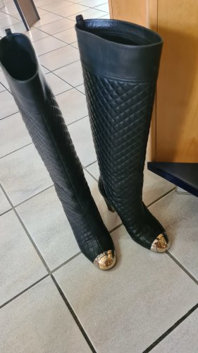 Chanel Botas deslizantes negro