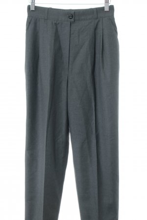 Chanel Pantalone jersey grigio chiaro stile professionale