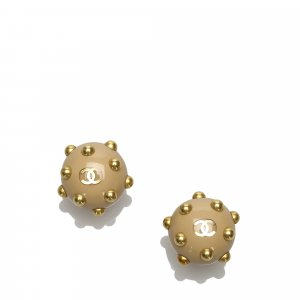 Chanel Studded Earrings