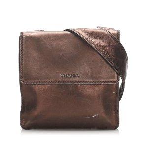 Chanel Suede Crossbody Bag