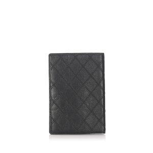 Chanel Surpique Leather Wallet
