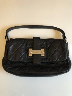 Chanel Schoudertas zwart-zilver