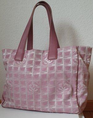 Chanel Tasche Handtasche New travel Line in Rosé