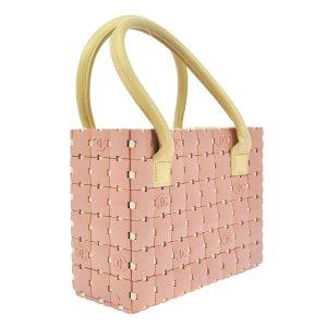 Chanel Tasche Puzzle Rosa/ Creme Leder Luxus Pur!