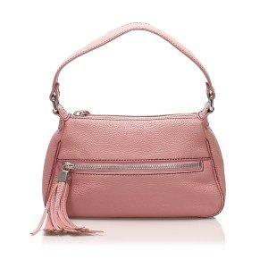 Chanel Shoulder Bag pink leather