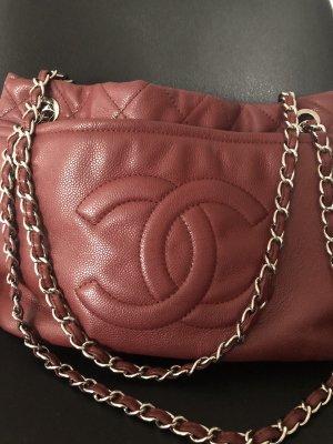 Chanel Shopper bordeaux