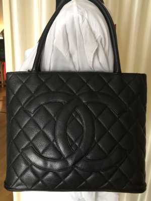 Chanel Carry Bag black leather