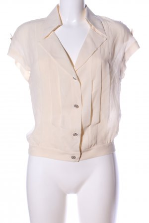 Chanel Transparante blouse wolwit casual uitstraling