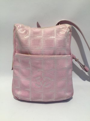 CHANEL Travel Line Mini Bag Crossbody in Rosa