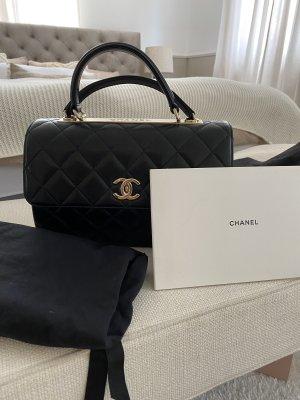 Chanel Handtas zwart-goud