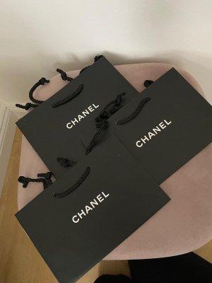 Chanel Shopper noir-blanc
