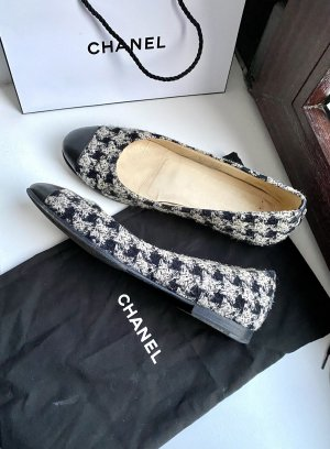 Chanel Tweed Ballerinas