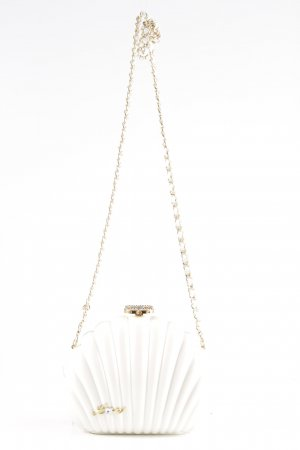 Chanel Crossbody bag white business style