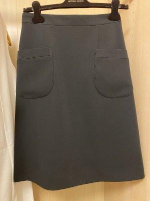 Chanel Midi-rok zwart