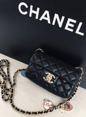 CHANEL Valentine MINI Flap Bag SCHWARZ Special LIMITED EDITION
