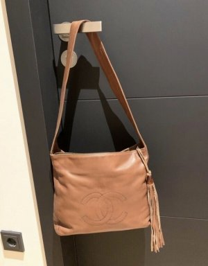 Chanel Borsa shopper cognac Pelle