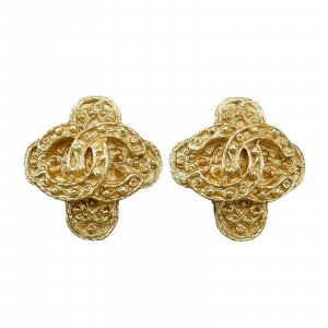 Chanel Vintage CC Earings