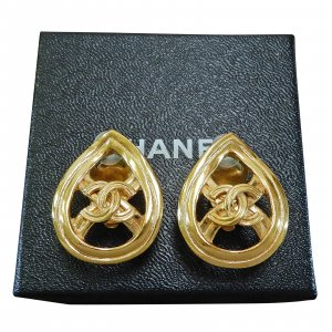 Chanel Vintage cocomark Earrings
