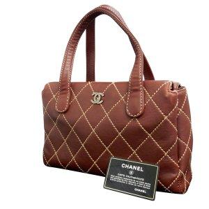 Chanel Handtas bruin Leer