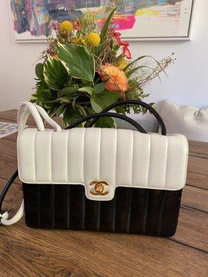 Chanel Borsetta bianco-nero
