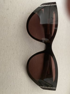 Chanel Gafas rojo zarzamora-violeta amarronado
